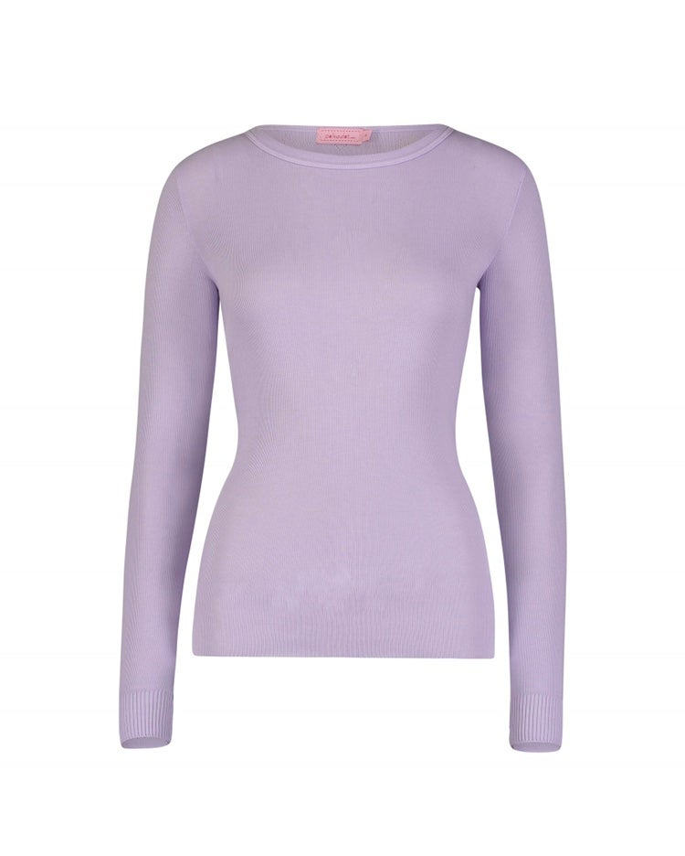 Image of Lavender slouchy top