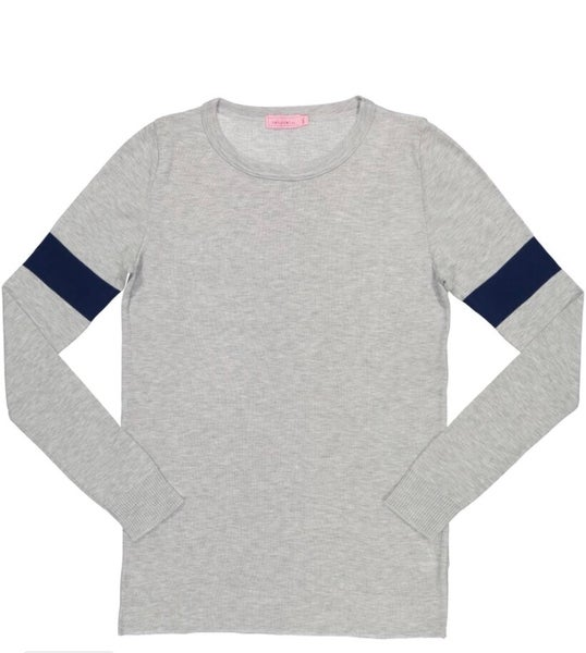 Image of Heather grey Sophia slouchy top