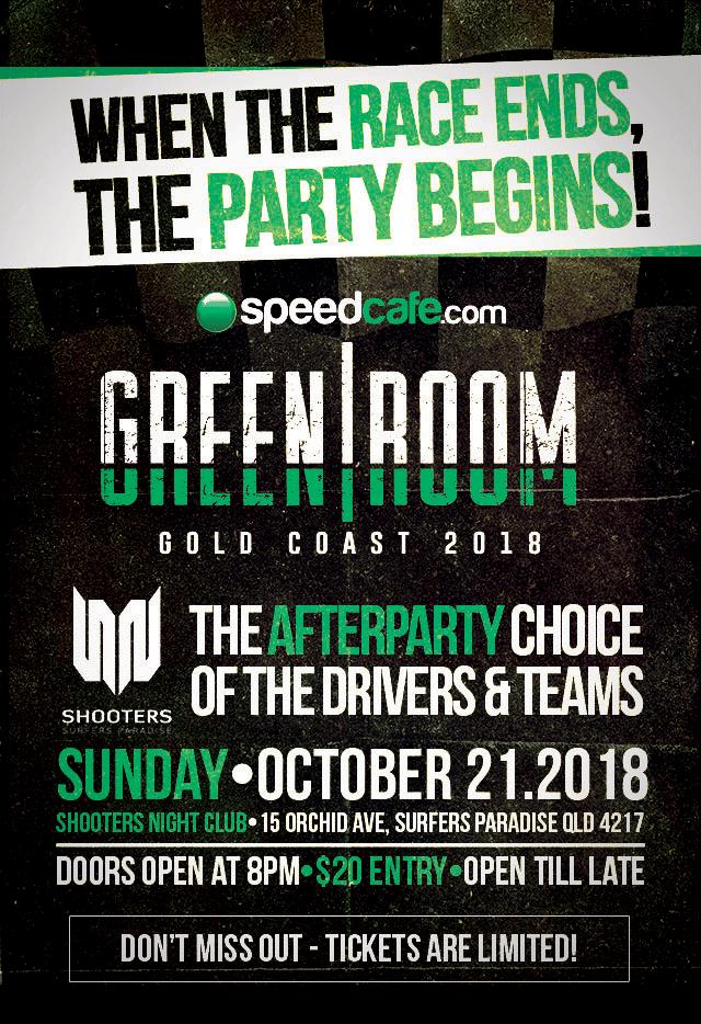 Image of 2018 Speedcafe.com Gold Coast Greenroom