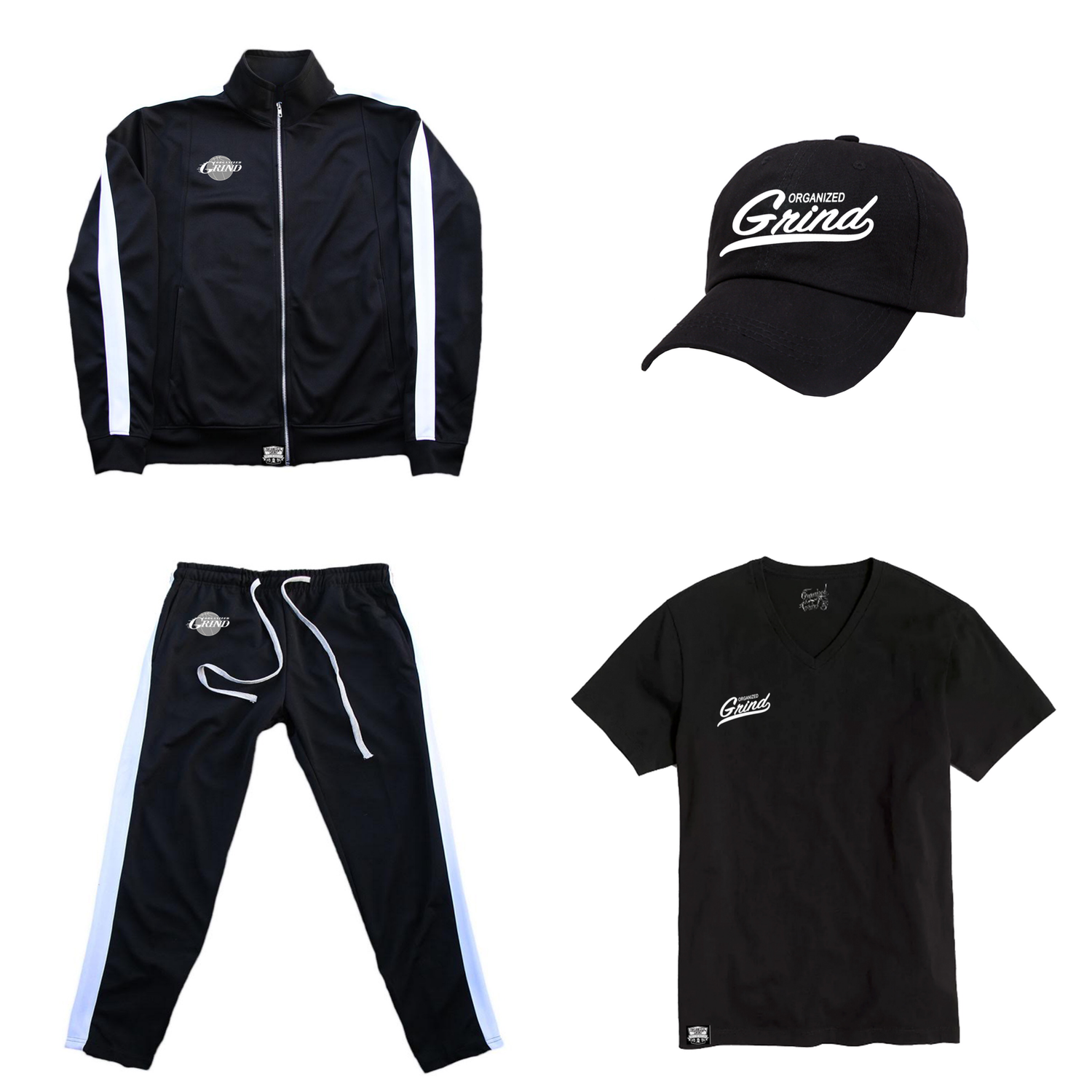 Image of OG Track Suit & Baseball Gear
