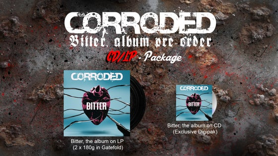 Image of CORRODED - CD/LP Package (Pre-Order)