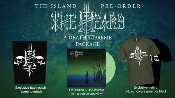 Image of The Heard - A Death Supreme Package (LP/Shirt/Patch)