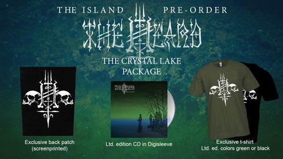 Image of The Heard - The Crystal Lake Package (CD/Shirt/Patch)