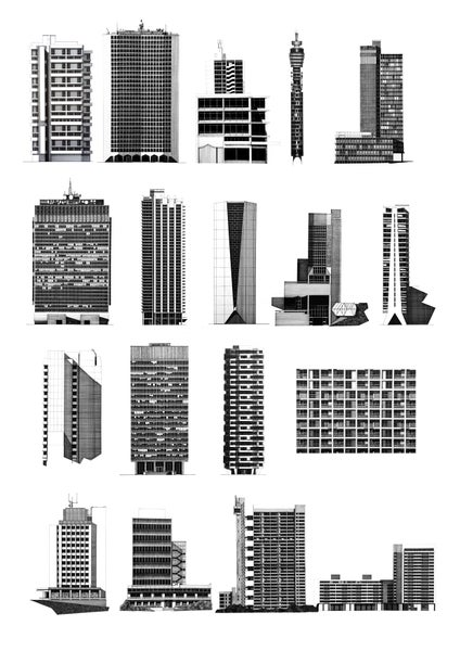 Image of Vertical Futures Illustrations print