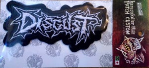 Image of Disgust - Official Embroidered Patch -
