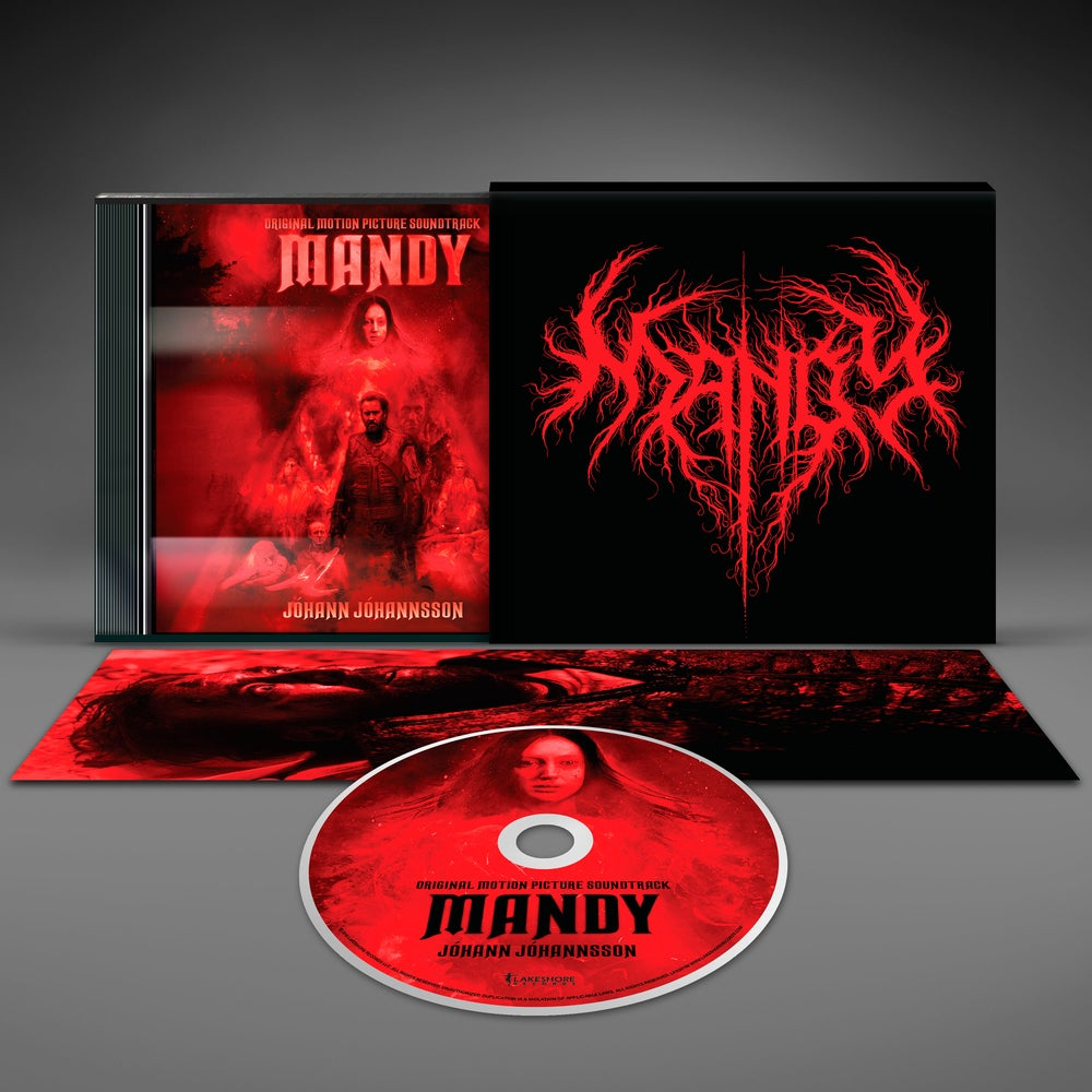 Image of Mandy (Original Motion Picture Soundtrack) - Jóhann Jóhannsson - CD