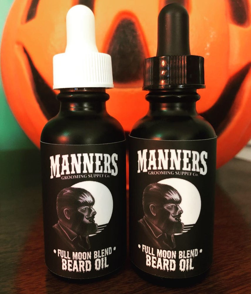 "Image of Limited Time Only! ""FULL MOON BLEND"" Premium Beard Oil - 1oz. / 30ml"