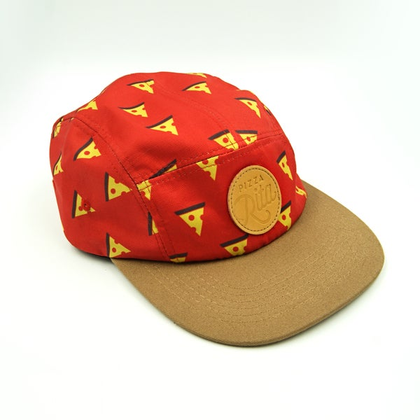 Image of Pizza Print 5-Panel Hat