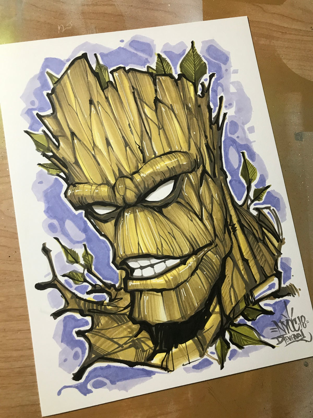 Image of Groot NYCC