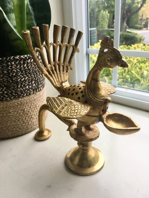 Image of Vintage Style Peacock Incense holder