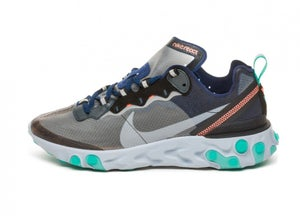 "Image of Nike React Element 87 ""Midnight Navy/Neptune Blue"""