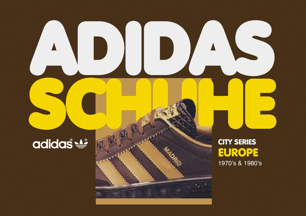 Image of Vintage Adidas Schuhe Book  -  Europe - Book 1