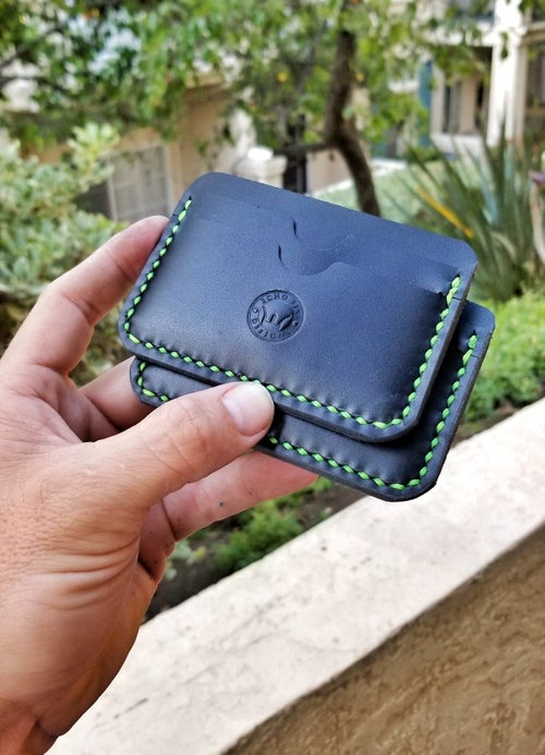 Image of Black 5 Pocket Wallet
