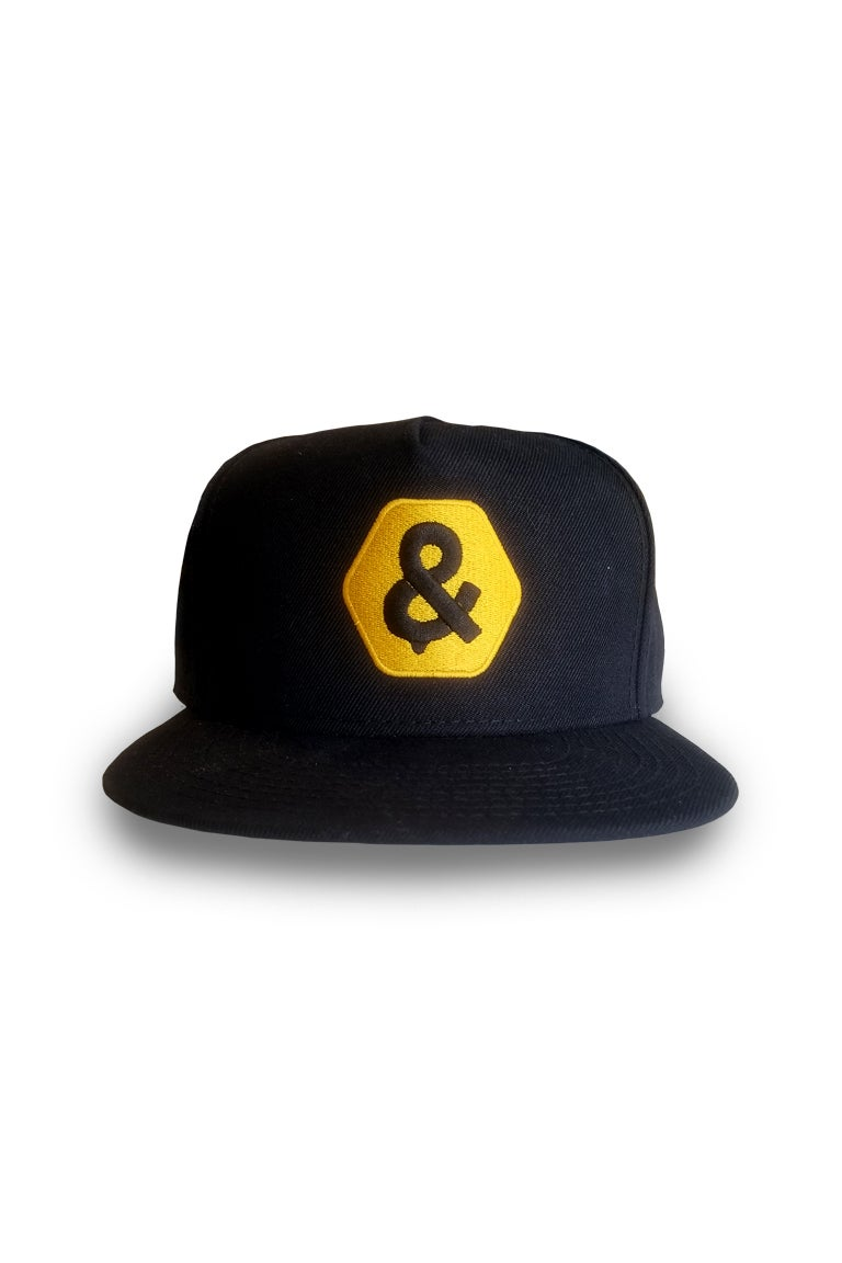 Image of WAX & HIVE SNAPBACK HAT