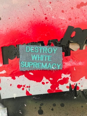 Image of Destroy White Supremacy Patches