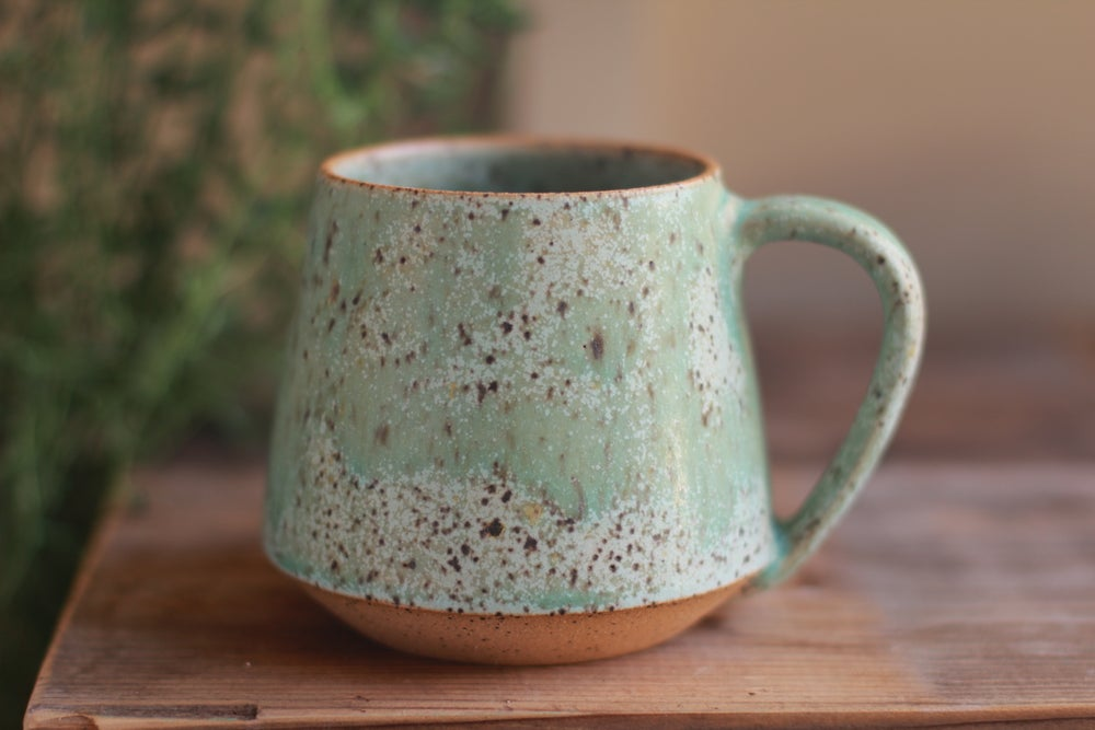 Image of Speckled Turquoise mug
