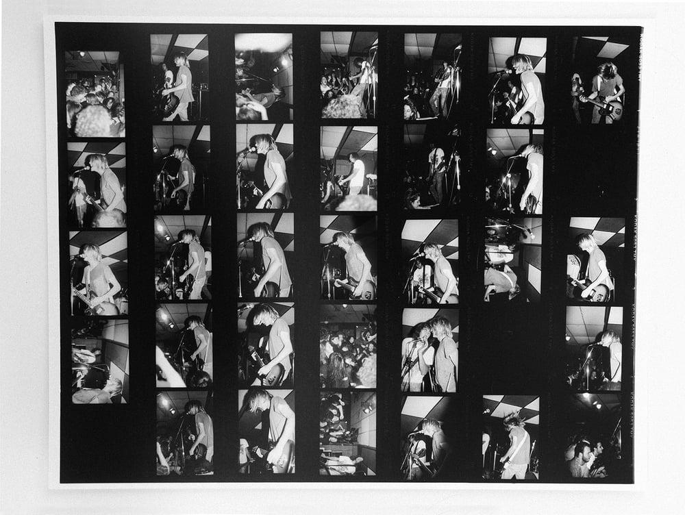 Image of 11X14 Enlarged Nirvana proof sheet