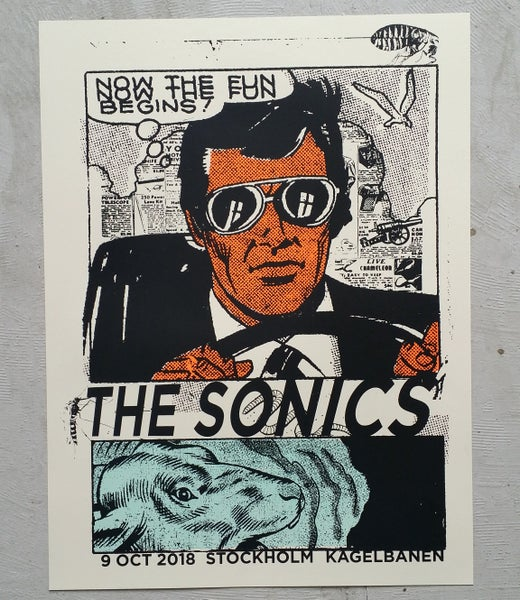 Image of The Sonics Stockholm 2018