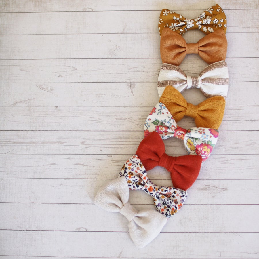 Image of Clara bows - Sunflower Collection