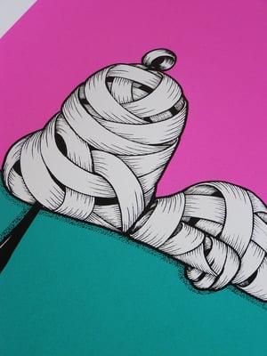 Image of Otto Schade - Snoopy Ribboned (purple)