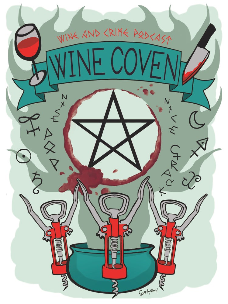 Image of Wine Coven Art Print