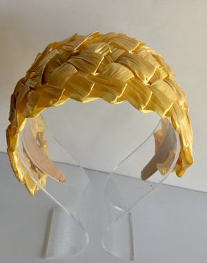 Image of Swiss straw headbands