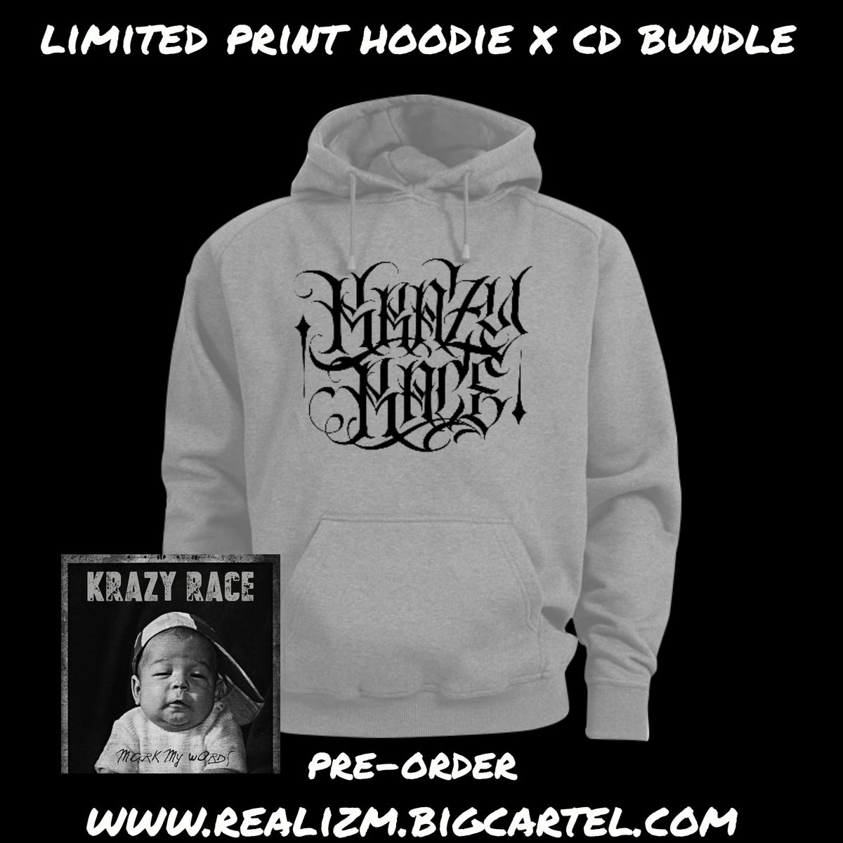 Image of Pre-Order New Limited Hoodie x CD Bundle