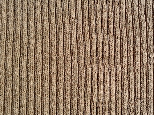 Image of 2x2 Rib Color-Grown Tan Cotton (by the half yard)