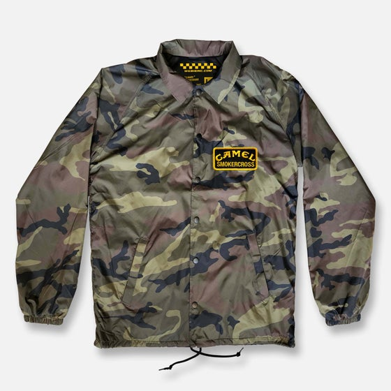 Image of CAMEL SMOKERCROSS COACHES JACKET