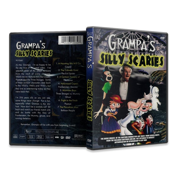 Image of Grampa's Silly Scaries (DVD)
