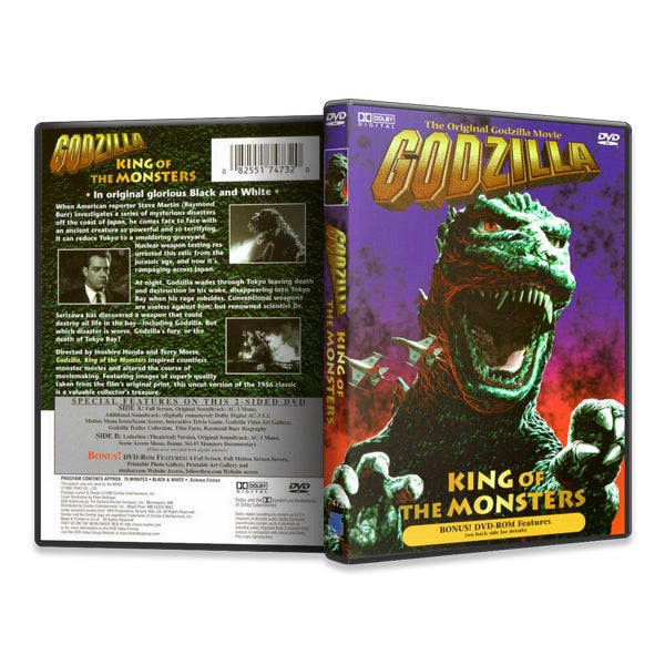 Image of Godzilla King of the Monsters (The Original Godzilla Movie) (DVD)
