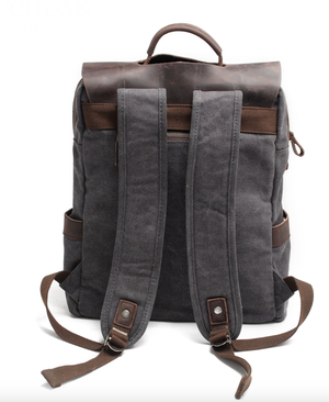 Image of Amsterdam Canvas Backpack