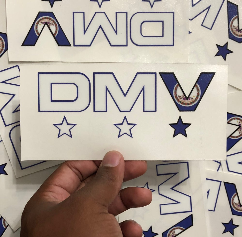 Image of VIRGINIA FLAG STICKERS