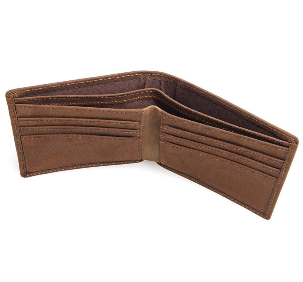 Image of Buffalo Leather Compact Wallet