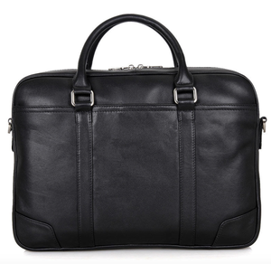 Image of Boston Leather Business Bag