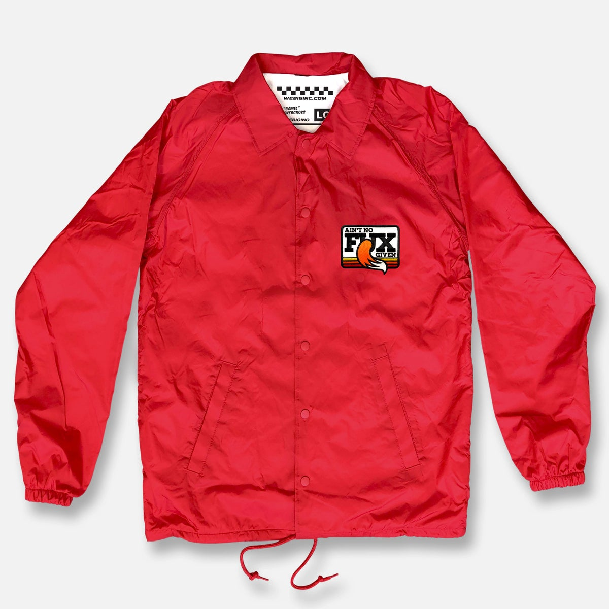 Image of NO FUX COACHES JACKET