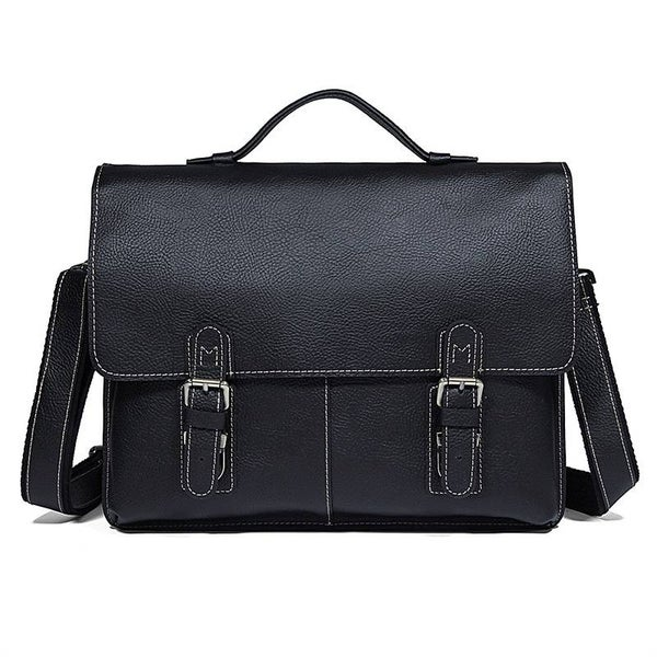 Image of Chicago Leather Shoulder Bag