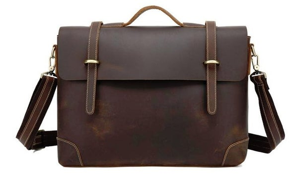 Image of Fremantle Leather Messenger Bag
