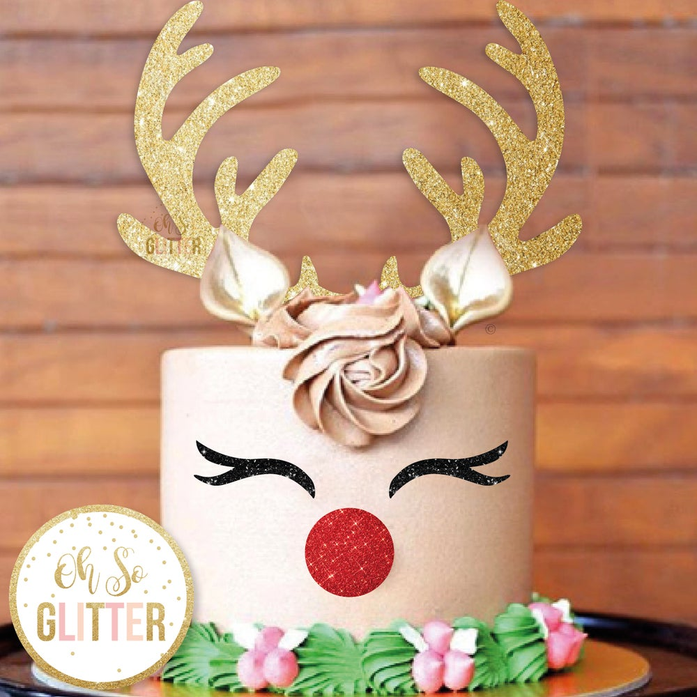 Image of Reindeer Cake Topper pack and multi buy deal