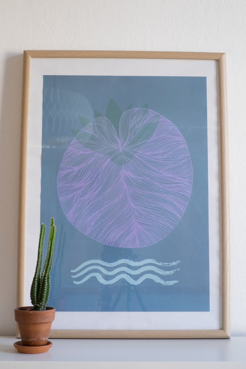 Image of Affiche «The Water Lily»