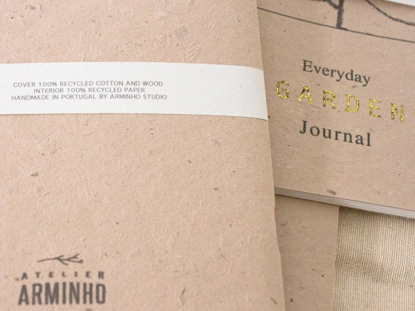 Everyday Garden Journal - gardening notebook for daily garden notes - arminho