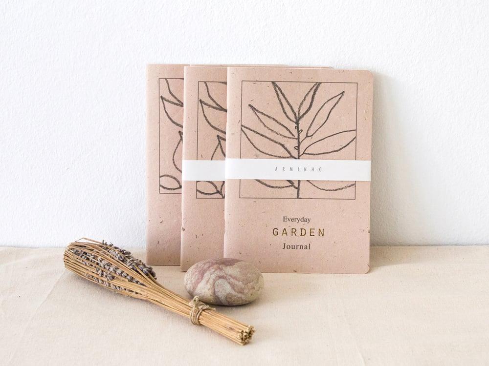 Image of Everyday Garden Journal - gardening notebook for daily garden notes #1 salgueiro