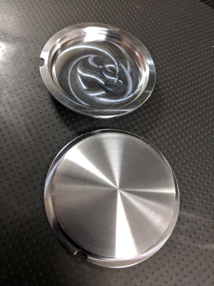 Image of Smoothie aluminum momo horn button