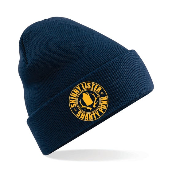 Image of Shanty Punk Navy Beanie