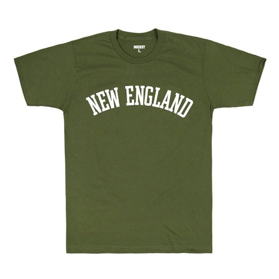 Image of 90East Tourist Tee - Army