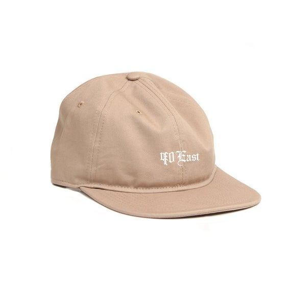 Image of 90East Globe Cap - Khaki