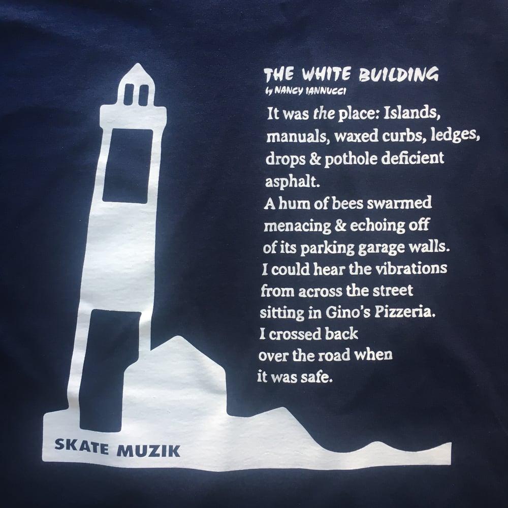 Image of Skate Muzik x POETS Lighthouse tee
