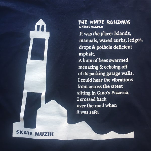 Image of Skate Muzik x POETS Lighthouse tee