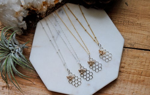 Image of Honey Bee Necklace