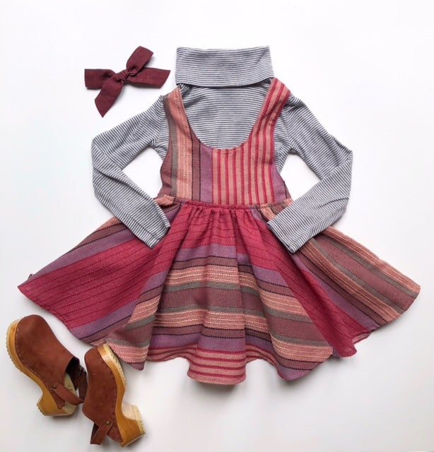 Image of RTS Country Rose Schoolgirl Skirt